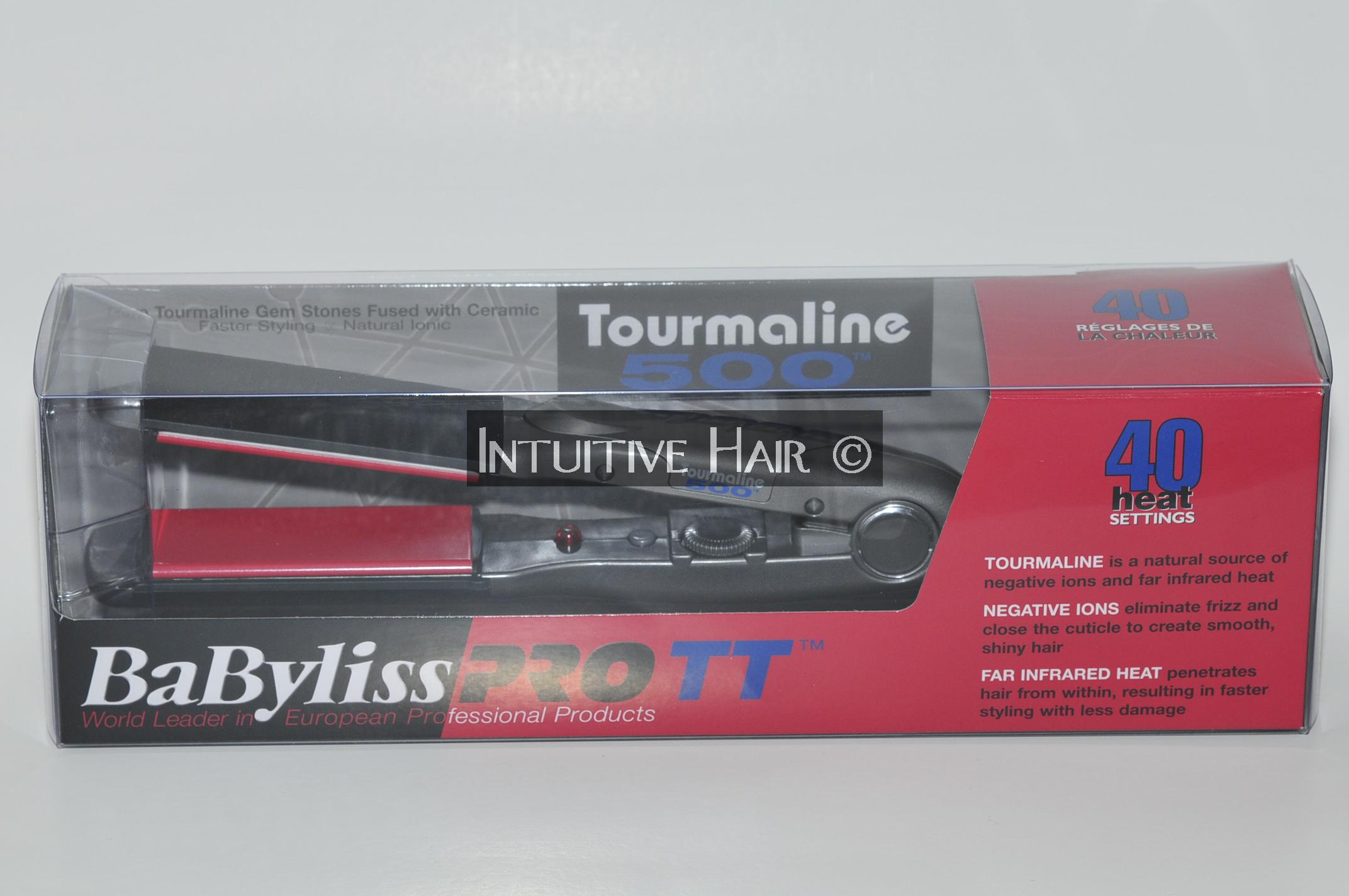 Babyliss Pro Professional Tourmaline 500 Flat Iron 1 5 034