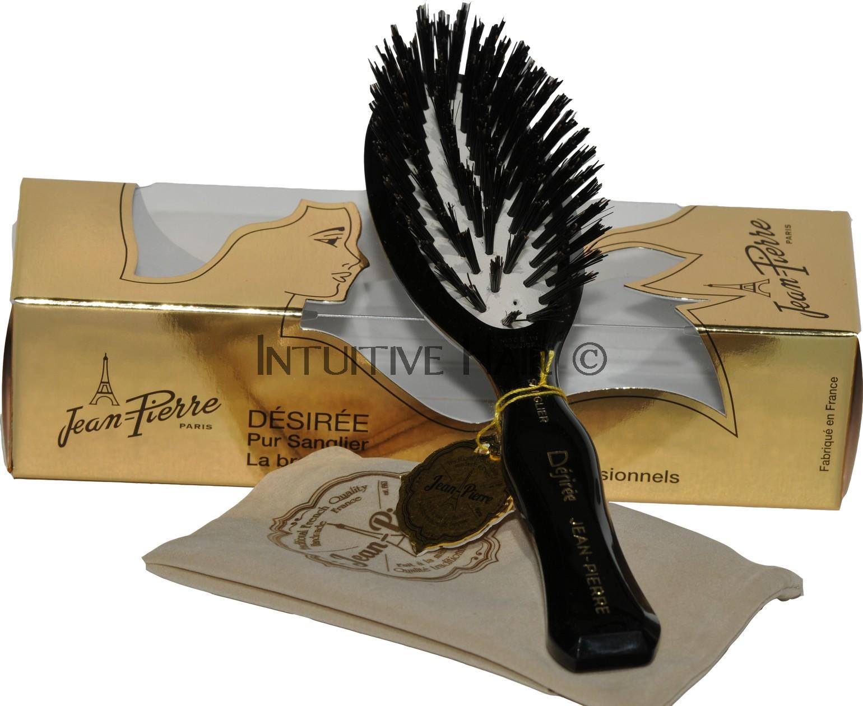 Hair Brush Jean Pierre Desiree 100 Boar Bristle Rare