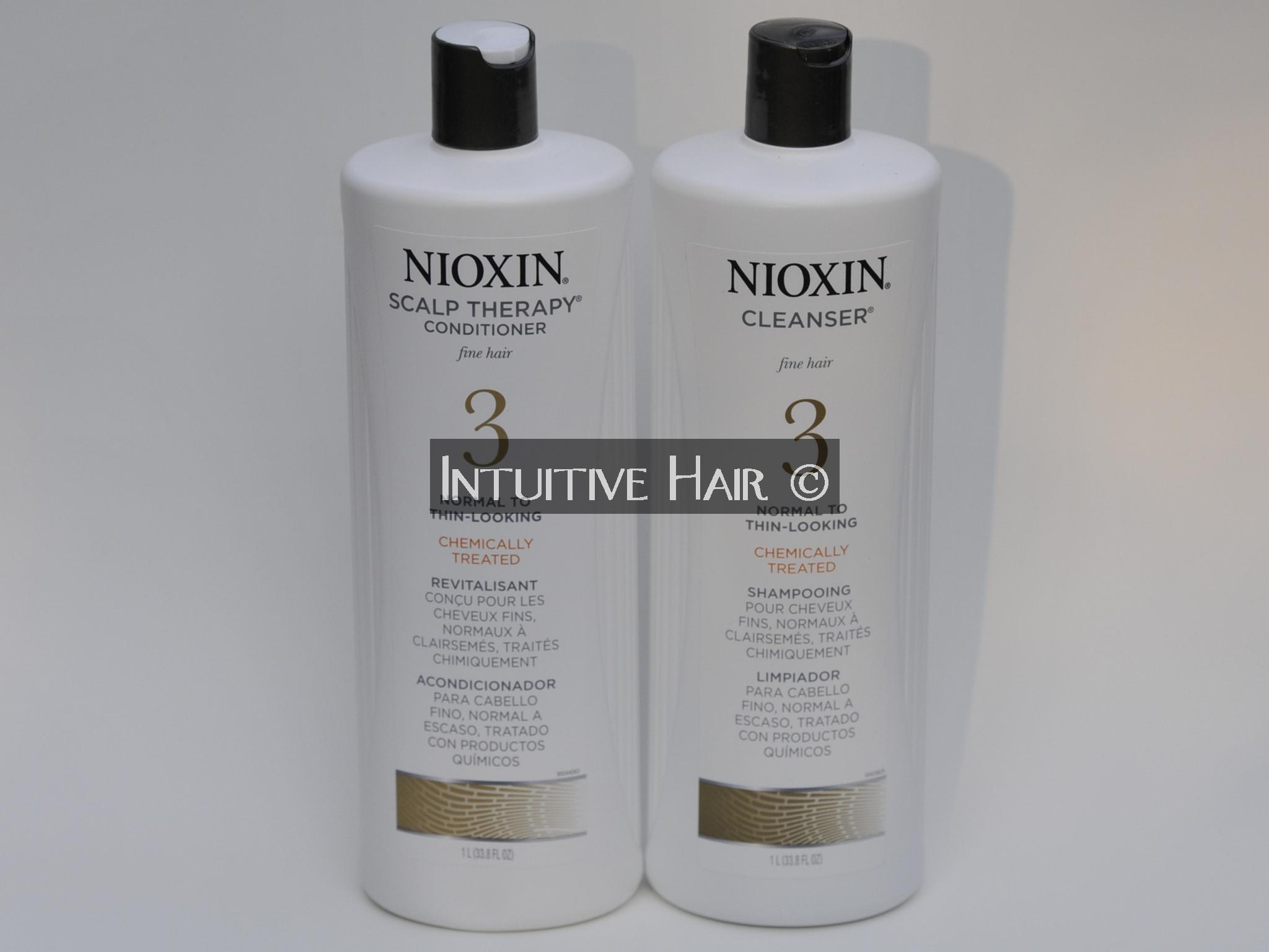 Nioxin System 3 Duo Shampoo Conditioner 1l 33 8 Fl Oz