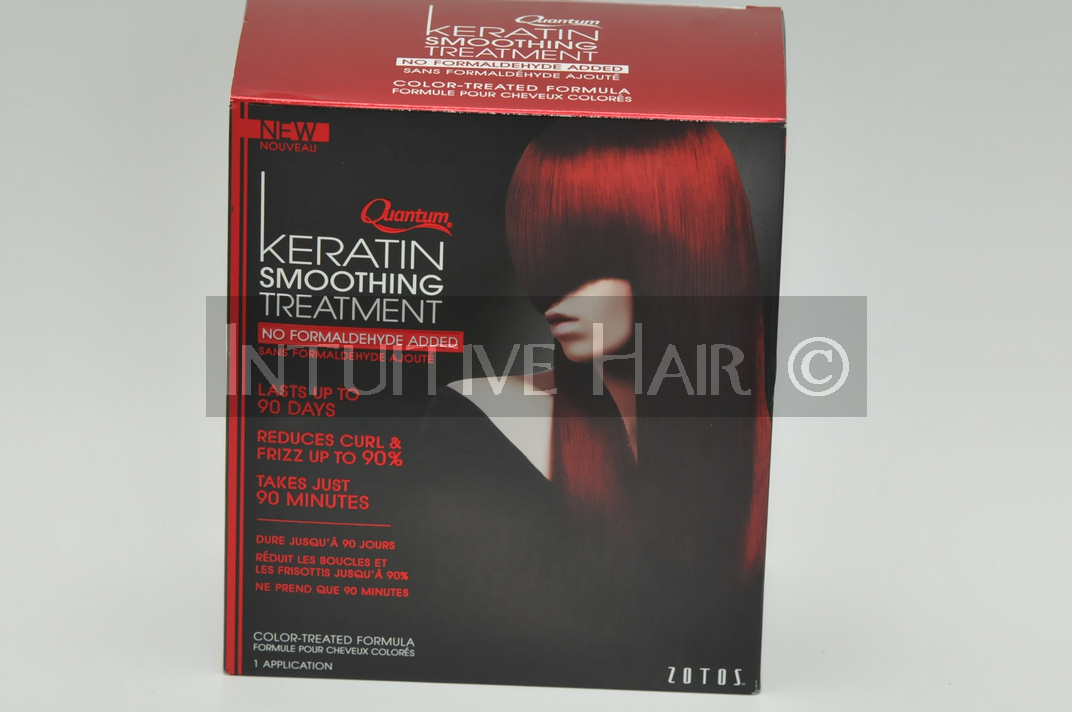 Quantum Keratin Smoothing Treatment Color Treated